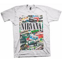 Camisetas De Bandas Rock Kurt Cobain Nirvana