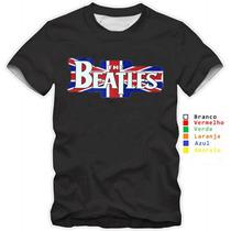 Camisetas The Beatles Banda Usa Camisa Bandas Rock Beatles