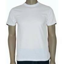 Camiseta Branca Em Malha Fria