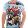 Camiseta Da Serie The Big Bang Theory Bazinga 4