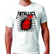 Camisa Personalizada Metallica Linkin Park Blink Rock Plt