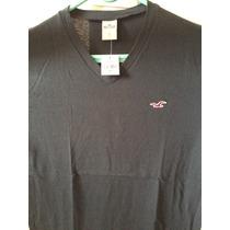 Camiseta Hollister Original Tam P, Nova, S/ Uso, C/ Etiqueta