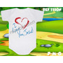 Body Infantil I Love You Jesus Personalizado Evangélico