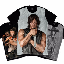 The Walking Dead Series Camiseta Personalizada
