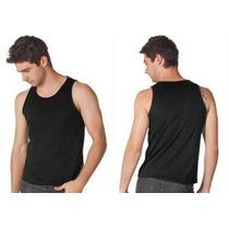 Camiseta Sem Estampa 100% Algodão Fio 30.1 Penteado