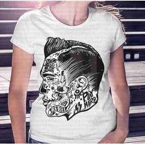Camisa Estampa Feminina Play Hard Tattoos