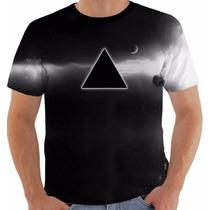 Camisa Camiseta Pink Floyd Dark Side Moon Gilmour Waters 5