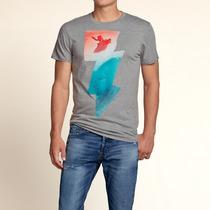 Camiseta Hollister Surfer - Modelo La Jolla Cove - Nova!