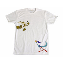 Camisetas Engraçadas Anos 80 Retrô Desenho Papaléguas C