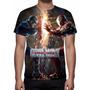 Camisa, Camiseta Filme Capitão América Guerra Civil - Mod 04