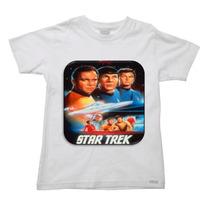 Camiseta Infantil Star Trek Jornada Nas Estrelas A - 2 Ao 16