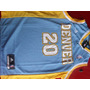 Camiseta De Basquete Nba Denver Nuggts 20 Felton!