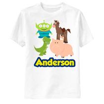 Camiseta Toy Story Disney - Personalizada