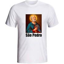 Camiseta São Pedro Santo Catolico