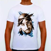 Camisa Camiseta Tupac Notorious Big Racionais Sabotage Rap