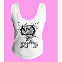 Camiseta Regata Nadador Lez Zepellin Classic Hard Rock 6