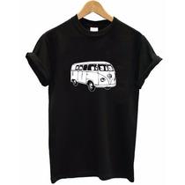 Camiseta Masculina Kombi Carros Van Automóveis Motos Clássic