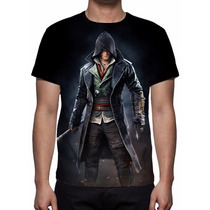 Camisa, Camiseta Game Assassins Creed Syndicate - Jacob Frye