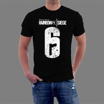 Camiseta Rainbow Six Siege Games E Jogos.