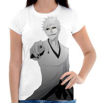 Camiseta Camisa Feminina Anime Otaku - Bleach 05