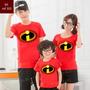 Lembrança De Aniversario Incríveis Heróis Camiseta Kit Com 3