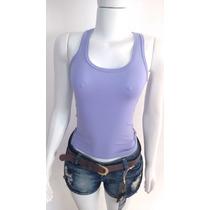 Blusa Feminina Regata Nadador Viscolycra Camiseta Lojas Bh