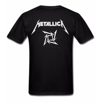 Camiseta Metallica James Hetfield - Camisa De Banda Rock