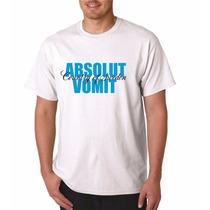 Camiseta Absolut Vomit