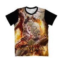 Camiseta God Of War - Camisa Kratos * Frete Grátis *
