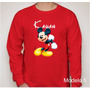 Camiseta Infantil Do Mickey Mouse Disney Personalizada Nome