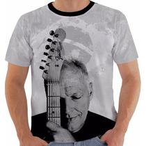 Camisa Camiseta David Gilmour Tour Brasil 2015 Pink Floyd