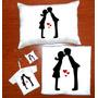 Camiseta Para Namorados Casal Kit Presente 4 Itens