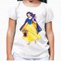 Camiseta Infantil Branca De Neve Cesta Doces Brinde Surpresa