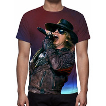 Camisa, Camiseta Guns N´ Roses Live - Estampa Total