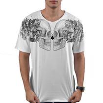 Camiseta Mcd Especial Street Skull Branca