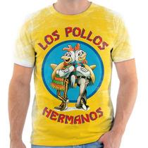 Camisa, Camiseta Breaking Bad - Mod 12 - Los Pollos Hermanos