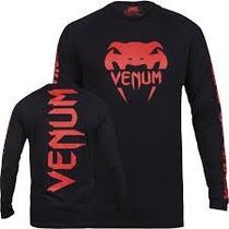 Camiseta Venum G Pro Team 2.0 Long Sleeves Redevil