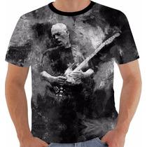 Camiseta David Gilmour Pb Brazil Tour 2015 Pink Floyd