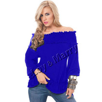 Blusas Femininas Plus Size Em Malha Moda Gordinha S/renda