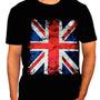 Camisetas Espaço Do Rock Bandera Da Englaterra