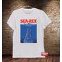 Camiseta Masculina Sátira Filme Tubarão Jaws Legal Engraçada