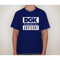Camiseta Dgk Parental Advisory - Varias Cores