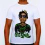Camisa Camiseta Wiz Khalifa Hip Hop Rap Musica 100% Algodão