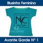 Blusinha Blusa Feminina Estampada Viscose Elastano Original