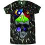 Camiseta Tshirt Skull Lsd