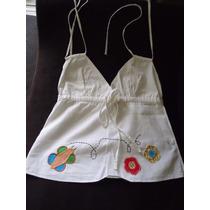 Blusa De Alcinha Lulu Tam P, Algodão