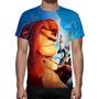 Camisa, Camiseta Filme Disney O Rei Leão - Estampa Total