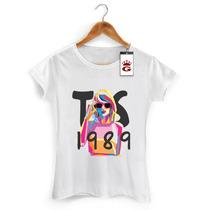 Camiseta Taylor Swift Baby Look Masculina Feminina Cantora