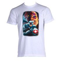 Camiseta Megaman Rock Man X 012