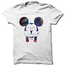 Camiseta Swag Mickey Fuck You Camisa Masculina Frete Grátis